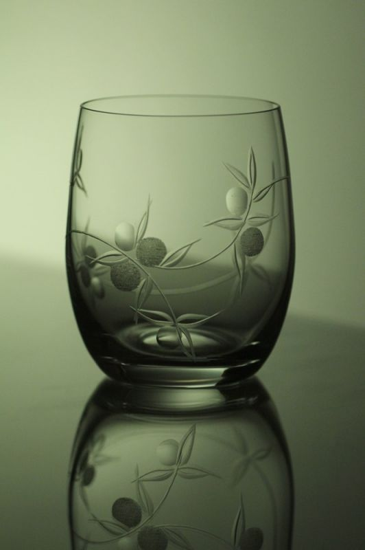 skleničky na whisky 6 ks Club 300 ml,sklenice s rytinou bobule, dárek k narozeninám