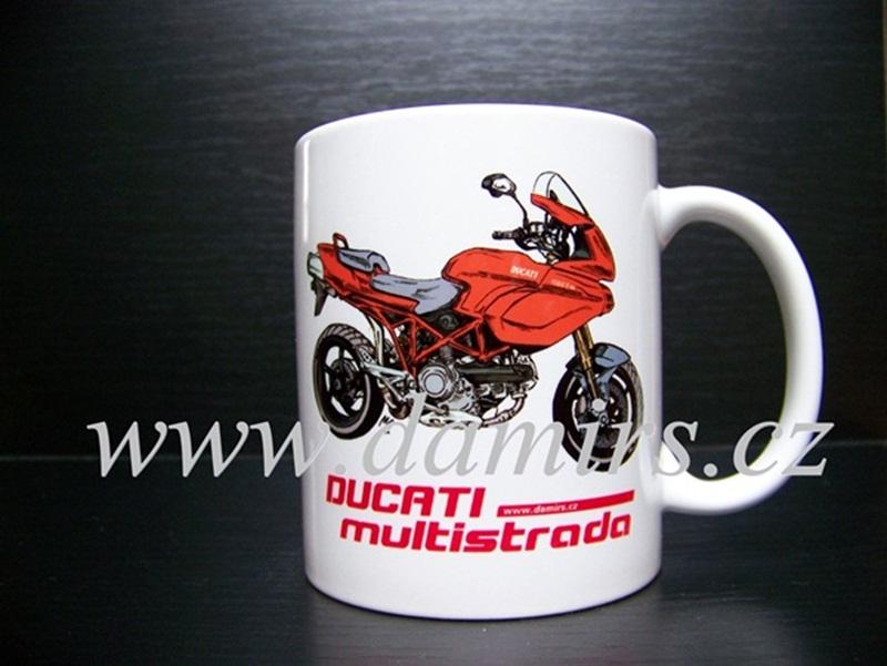 Hrnek s motivem Ducati Multistrada