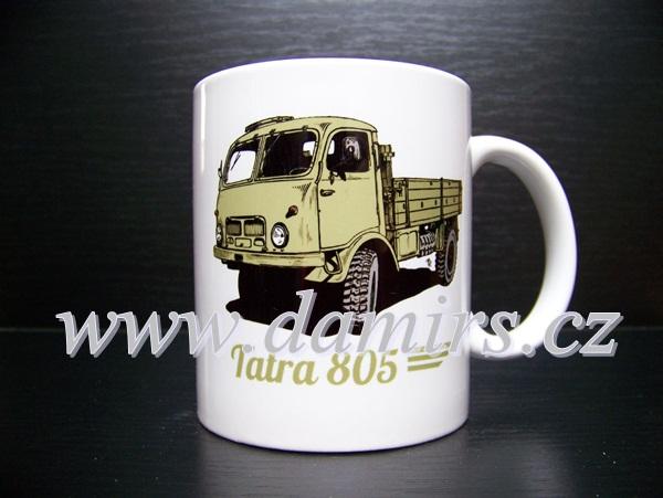 Hrnek s motivem Tatra 805 valník