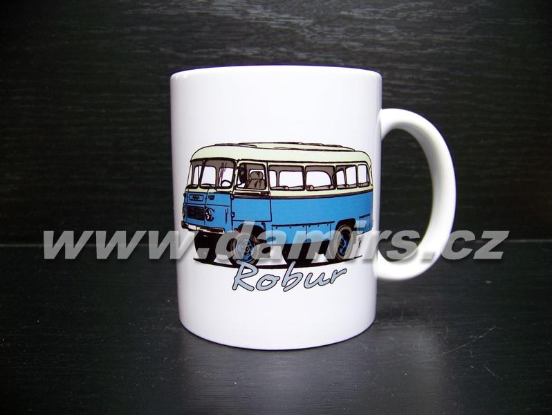 hrnek s motivem Robur Bus
