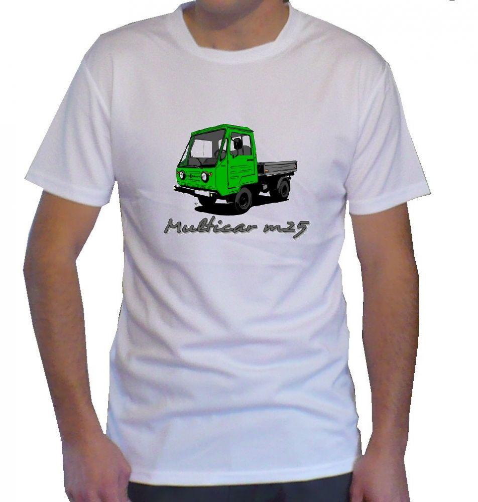 Triko s motivem Multicar m25