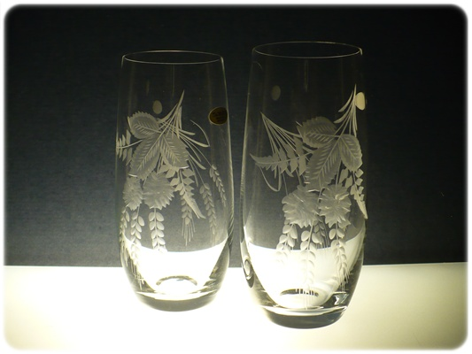 skleničky na pivo 6ks Club 350ml,sklenice s rytinou chmelu,dárek k narozeninám