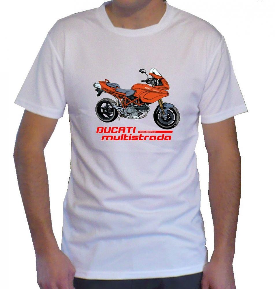 Triko s motivem Ducati Multistrada