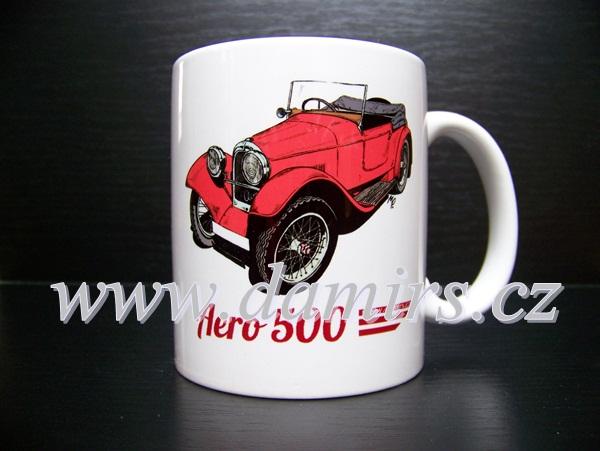 Hrnek s motivem Aero 500