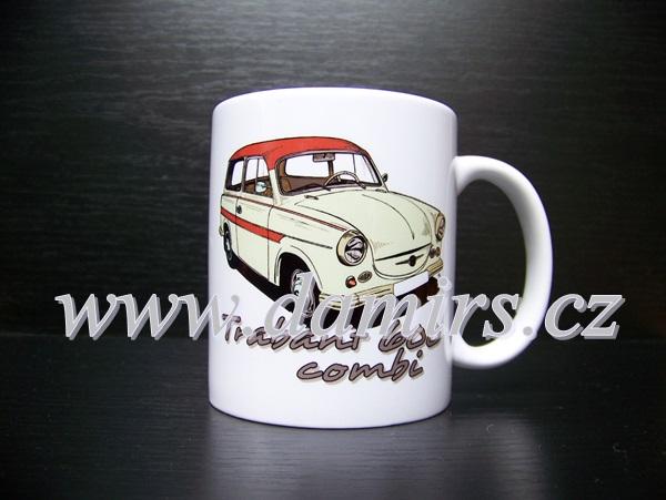 hrnek s motivem Trabant 600 combi