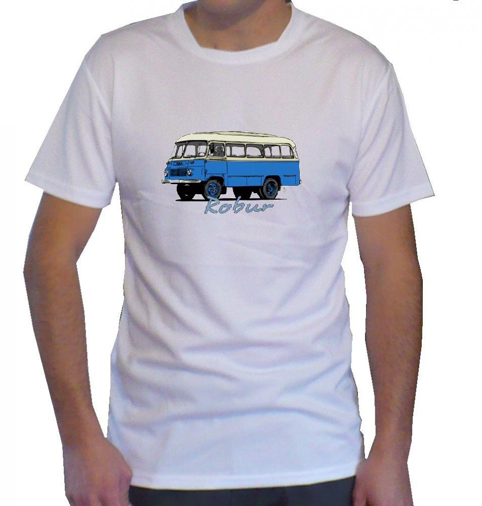 Triko s motivem Robur bus