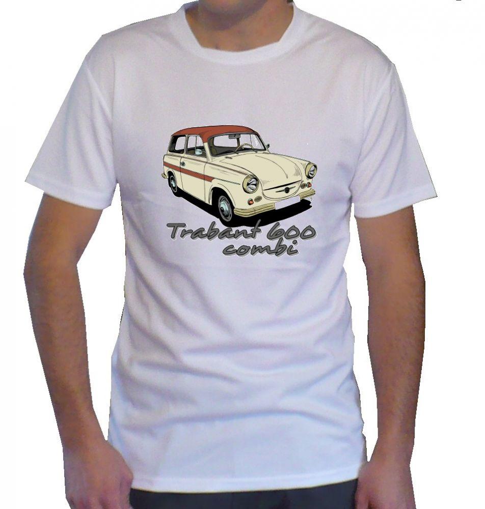 Triko s motivem Trabant 600 combi
