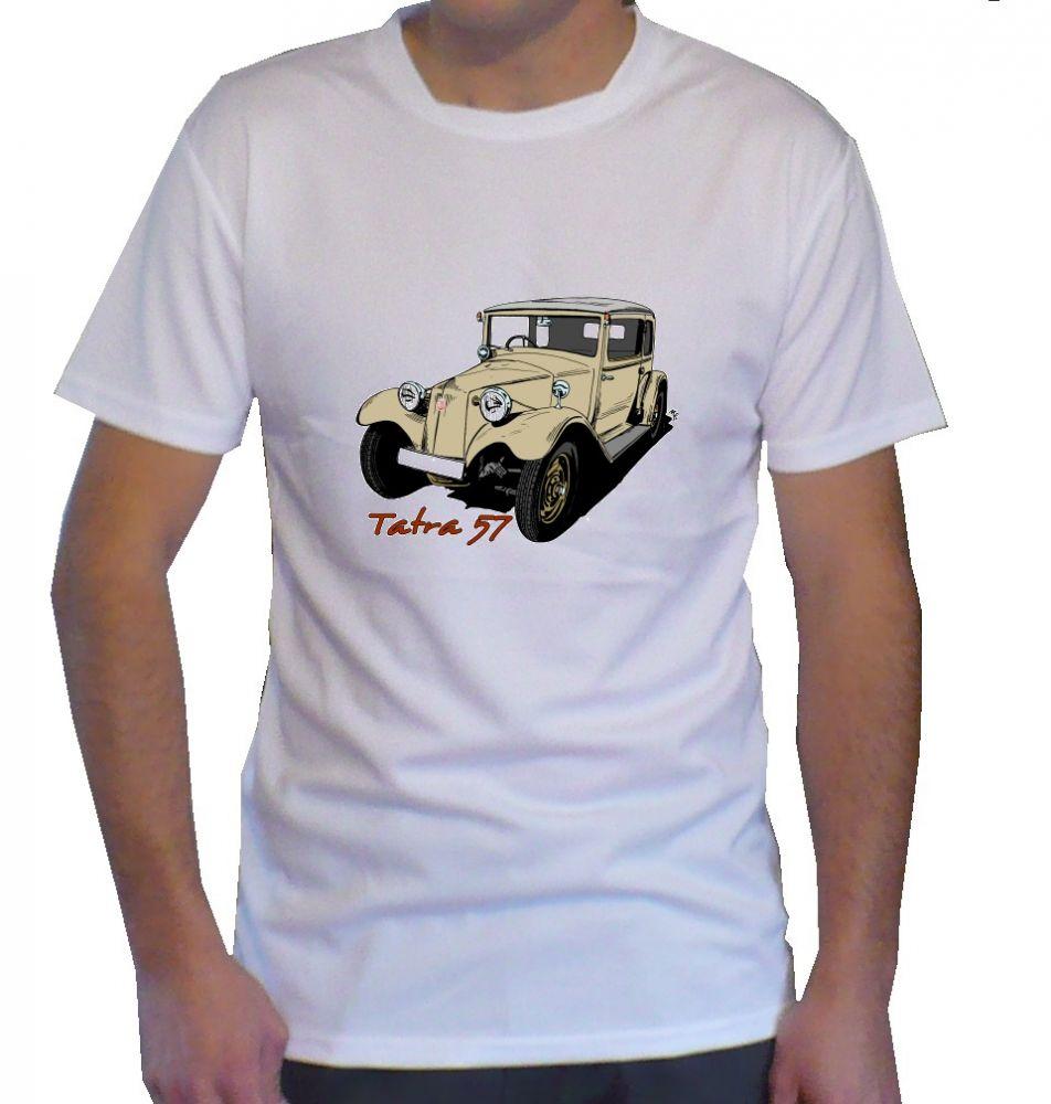 Triko s motivem Tatra 57